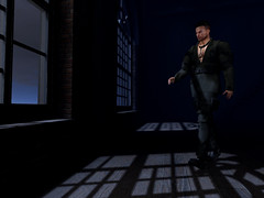 Return to the Light (ScottSilverdale) Tags: secondlife sl scottsilverdale gb varonis backdrop brynohsbluniverse shadow shadows window windows industrial loft return cominghome home signature signaturegianni catwa catwadaniel argrace anaposes fameshed