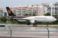 N152UP (Hector A Rivera Valentin) Tags: united parcel services ups airbus a300 f4622r n152up serial 835 year 2003 jetblue airways a320232 n586jb serial2160 year2004 sexy jet llc gulfstream aerospace gv 509 1997 airport tjsj sju puerto rico