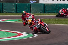 "WSBK Imola 2018 • <a style=""font-size:0.8em;"" href=""http://www.flickr.com/photos/144994865@N06/41645105424/"" target=""_blank"">View on Flickr</a>"