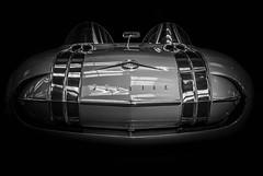 UFO (Dave GRR) Tags: toronto auto show 2018 pontiac ufo monochrome mono bw black white background retro classic vintage olympus