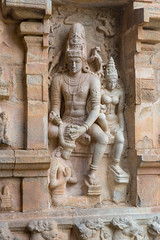 Shiva + Parvati (davidthegray) Tags: sculpture chola tamilnadu southindia statue india shiva god parvati hindu temple cholapuram southernindia vinayagar दक्षिणभारत भारत தமிழ்நாடு தென்இந்தியா ದಕ್ಷಿಣಭಾರತ gangaikondacholapuram in