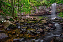 Cherokee Falls (Wizum) Tags: 2018 cherokeefalls hdr photomatix cloudlandcanyon falls georgia hike hiking landscape nature waterfall trenton ga usa