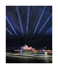 Wings (Mike Hankey.) Tags: sydney cityscape vivid published