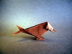 Small Bird - Christophe Boudias (Rui.Roda) Tags: origami papiroflexia papierfalten oiseau pájaro pássaro small bird christophe boudias ousa origamiusa collection 2018