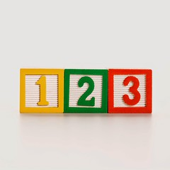 Stock Images (perfectionistreviews) Tags: stilllife studio nobody photograph color object indoors square education learning blocks block toys toy buildingblocks math numerical counting number text numbers consecutive row linedup sequence whitebackground three communication copyspace educate elementaryschool language learn school symbol concept conceptual 1 2 3 two arithmetic