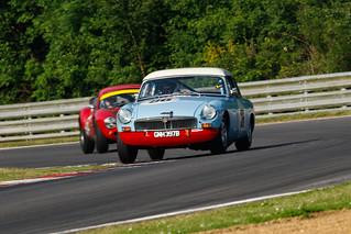 Masters Gentlemen Drivers MGB Roadster (Nigel Greensall/Ed Stone)