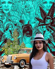 #CHOLA#TATOO#GANGSTER#AZTECA#ART#GRAFITI#SUREÑA (rod420oficial) Tags: chola sureña azteca gangster tatoo art