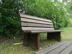 El banco solitario... (Los colores del Barbanza) Tags: banco soledad verde marrón madera parque de san roque ribeira barbanza coruña galicia españa spain bench loneliness green brown wood park