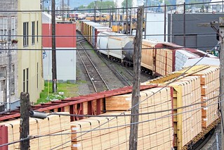Slow Moving Freight Train