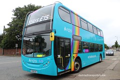 Arriva 4412 (anthonymurphy5) Tags: rainbow outside arriva 4412 cx58gaa alexanderdennis enviro400 knowsleyroadbootle 030618 arrivabuses transport travel busdriver buspictures busspotting bus