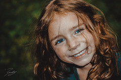 Happy Look (Randy • R) Tags: 60mm bokeh color dn ilce6000 nc northcarolina randall sony us usa unitedstates a6000 adorable amazing background beautiful beauty cheerful child childhood children colorful colors curly cute day daylight expression eye eyes face female fun girl green hair happiness happy healthy image interesting isolated joy joyful kid kids lifestyle little look looking love nice one outdoor outdoors outside people person photo photographer photography pic picture portrait pretty sigma single smile smiling sweet young youth winstonsalem