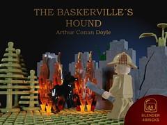The Baskerville´s Hound (Blender4bricks) Tags: lego render mecabricks blender sherlock holmes baskerville hound arthur conan doyle mistery