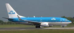 Boeing 737-7K2 PH-BGT (707-348C) Tags: dublinairport dublin dub airliner jetliner boeing klmroyaldutchairlines klm passenger eidw phbgt b737 ireland boeing737 2018