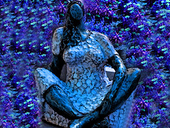African Woman (soniaadammurray - On & Off) Tags: iphone manipulated experimental collage abstract woman africa artchallenge contest66africa kreativepeoplegroupcontest