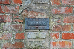 Letters (cmw_1965) Tags: letter letters letterbox box flap edwardian victorian old bronze