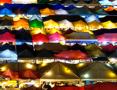 Bangkok, nightmarket (Rickard Brandt) Tags: bangkok