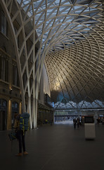 king's cross railway station (pmlmultimedia) Tags: kingscross railway train trainstation london uk architecture travel wanderer