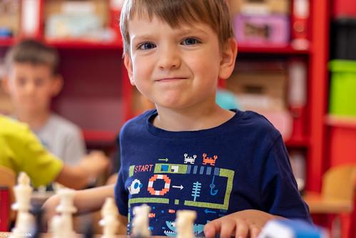 VIII Turniej Szachowy o Mistrzostwo Przedszkola Europejska Akademia Dziecka-18
