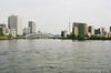 月島墨田川 (✱HAL) Tags: om1 ektar 100 color nega film kodak tokyo tsukishima sumidagawa river skytree