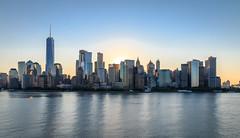 Sunrise Behind Manhattan (james9632) Tags: bermuda cruise new york city cityscape skyline sunrise manhattan norwegian breakaway ship