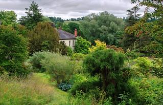 The Gardens at Regency House, Hemyock.