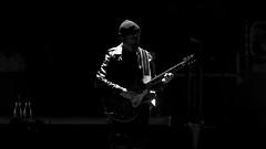 U2 - 2018-05-08 - San Jose - The Edge (rossgperry) Tags: u2 u2eitour experienceinnocencetour theedge 20180508 2018 sapcenter sanjose concert music bw blackandwhite