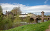 River Monnow and Monnow Bridge, Monmouth, Wales. UK (staneastwood - 2 mil views - Thank you all.) Tags: monmouth wales unitedkingdom gb staneastwood stanleyeastwood bridge monnow water river riverbank weir building architecture