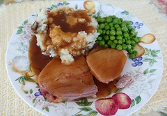 Sunday Dinner (JLS Photography - Alaska) Tags: dinner food plate roast jlsphotographyalaska cabincooking cooking meal