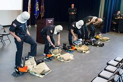 180613_NCC Fire Fighter Academy Commencement_046 (Sierra College) Tags: 2018commencement davidblanchardphotographer firefighteracademy ncc firstclass class182