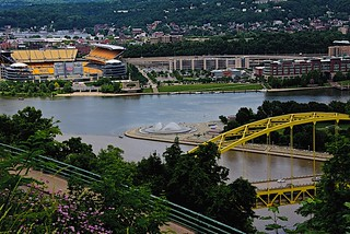Three Rivers in Pittsburgh, Pennsylvania