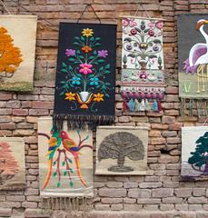 Tapestries (SamKirk9) Tags: nepal kathmandu bhaktapur
