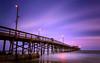 Newport Beach Pier (TwistedPixel) Tags: ca newportbeach beach pier longexposure california dusk sunset clouds water ocean