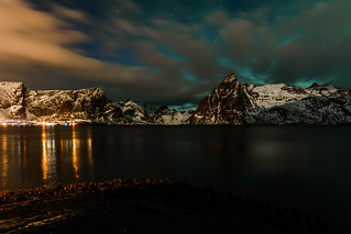 Late evening at Reine, Norway