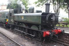 The Pannier plus DMU shuttle (372Paul) Tags: toddington broadway cheltenham hailes foremarkehall po kingedwardii 6023 5197 s160 7903 6430 pannier dmu cotswoldfestivalofsteam gloucestershirewarwickshirerailway steam locomotive class20 class26 shunter