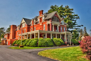Plattsburgh New York - S. F. Vilas Home for Aged & Infirmed Ladies - Historic