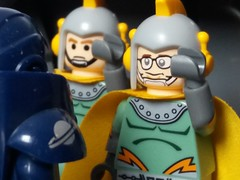 Space Cadets (eddiemck123) Tags: lego minifigure collectibleminifigureseries moc toy classicspace spaceexploration space