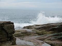 Ocean Path in Acadia National Park (lucre101) Tags: bar harbor maine downeast beautiful acadia national park atlantic ocean path coast shore rocky wave crashing