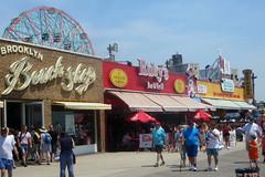 Coney Island Boardwalk (edenpictures) Tags: coneyisland brooklyn newyorkcity nyc boardwalk rubysbargrill brooklynbeachshop nathans