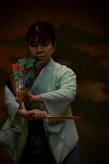 舞囃子 (小川 Ogawasan) Tags: japan japon noh theater performance kimono stage live traditional art pine kata 仕舞 舞囃子 能 nô dance drama
