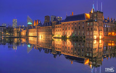Binnenhof (morbidtibor) Tags: netherlands nederland holland cityscapes denhaag thehague hague binnenhof parliament government eerstekamer tweedekamer binnenhofvijver pond