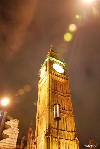 Парламент і Біг Бен Лондон вночі InterNetri United Kingdom 0447