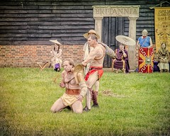 The Fate Of The Loser (Cheesy_Nacho) Tags: roman gladiator britannia fight show reenactment chilternopenairmuseum reenacting history fighting