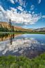 Lazy Clouds (Kirk Lougheed) Tags: california danameadows sierranevada sierras tiogapass usa unitedstates yosemite yosemitenationalpark alpine landscape meadow nationalpark outdoor park pond pool reflection vernal water