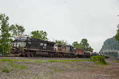 NS 67X @ Duncannon, PA (Darryl Rule's Photography) Tags: 1943 2018 amtrak clouds cloudy diesel diesels emd freight freightcar freighttrain freighttrains ge helpers may middledivision mixedfreight ns norfolksouthern ocs passenger passengertrain railroad railroads sd70ace spiritoftheunionpacific spring train trains up unionpacific westslope