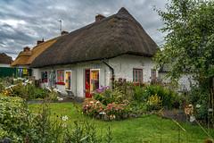 Adare (bervaz) Tags: sony 2470mm irlanda ireland limerick adare verde green paja casa flores flowers cottage