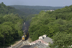 Over the Hills and Far Away (dmara3016) Tags: nysw sd60 sd452 gp382 train freight new jersey emd riverdale