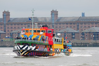 Ships of the Mersey - Mersey Ferry Snowdrop