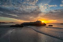 180603 ~ IMG_1075 ~ pagi di balok (alongbc) Tags: sunrise cloud sky beach seascape shoreline rock balok kuantan pahang malaysia travel place trip canon eos700d canoneos700d canonlens 10mm18mm wideangle