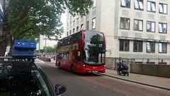 New Go Ahead London EH288 YX18KXA route 77 (sojiafolabi122) Tags: eh288 yx18kxa goaheadlondon londonbuses 77 waterloo