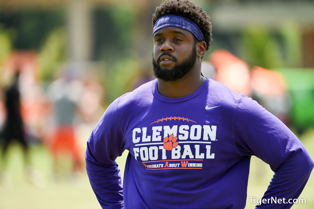 Clemson Photos: Kendall  Joseph, 2018, Dabo  Swinney  Camp, Recruiting
